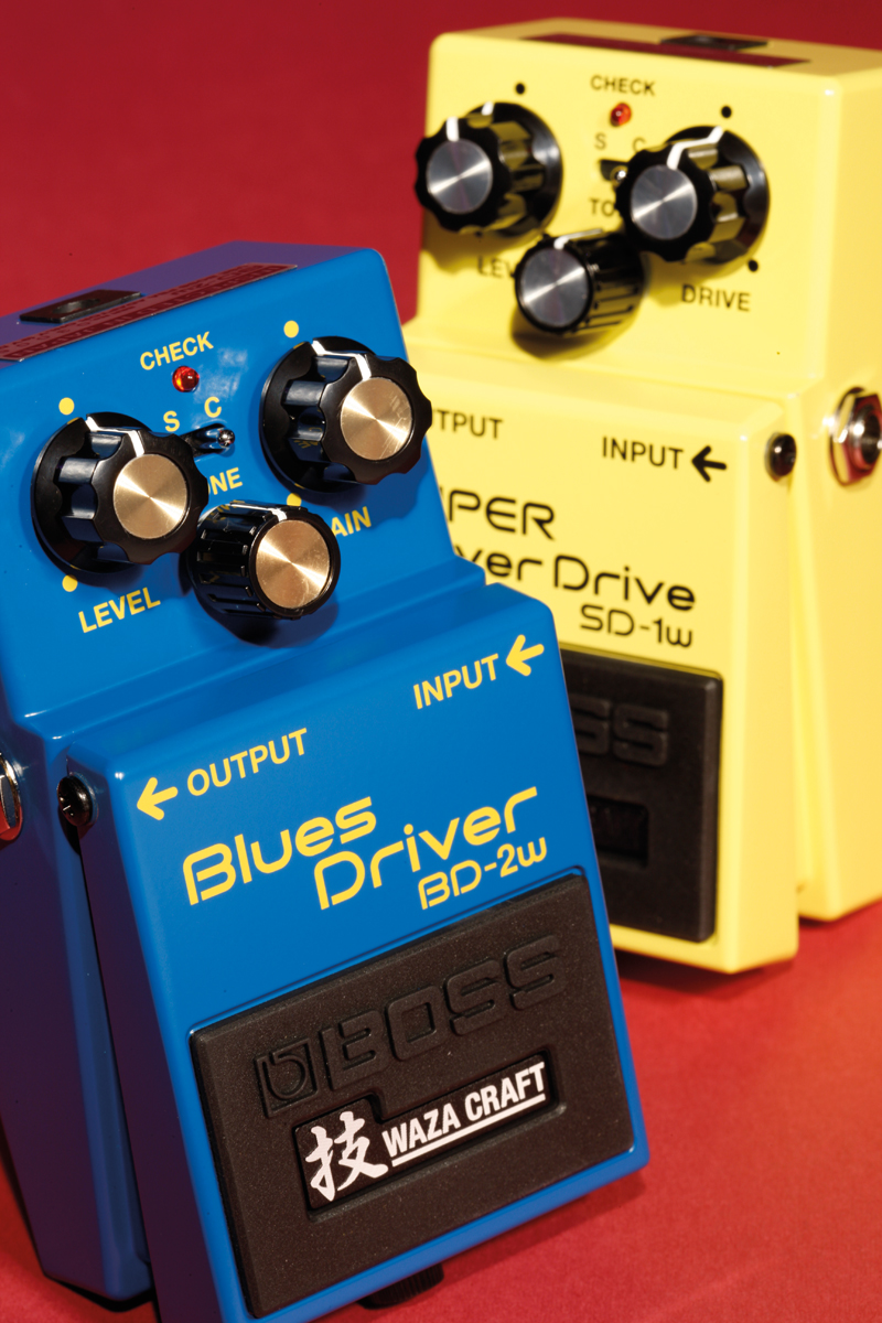 Boss Waza Craft Sd 1w And Bd 2w Reviews All Things Guitar Blues Driver Pedal Wiring Diagrams