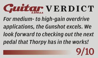 ThorpyFx Gunshot Overdrive review
