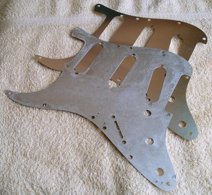 fender stratocaster shielding plate aluminium