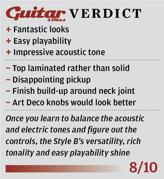 D\'Angelico EX Series Style B review - The Guitar Magazine | The ...