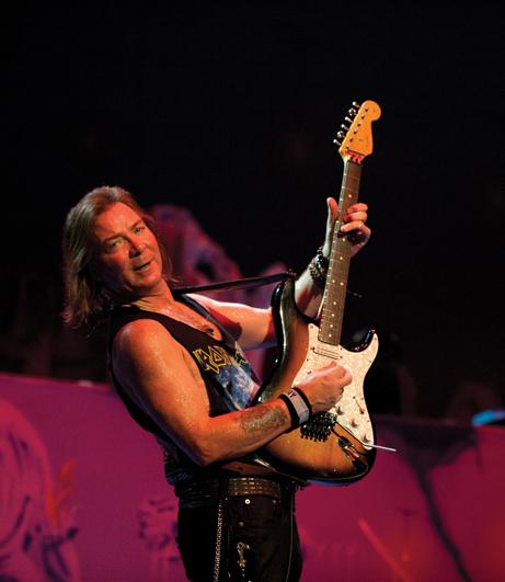 Fender Dave Murray Stratocaster Review Guitar Amp Bass