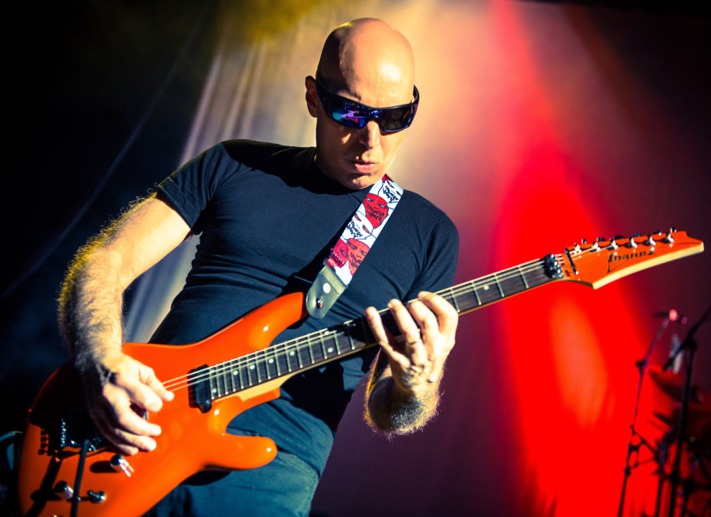 Interview joe satriani talks shockwave supernova the guitar joe satriani tells steve bailey all about the flamboyant alter ego he created to help him wrestle with a question thats close to his heart m4hsunfo