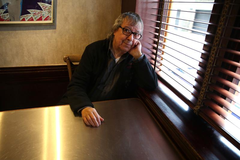 Bill Wyman, Sticky Fingers restaurant, London May 2015