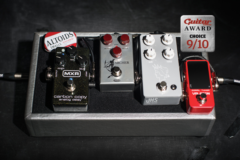 West Coast Pedalboard Little Rock Review The Guitar