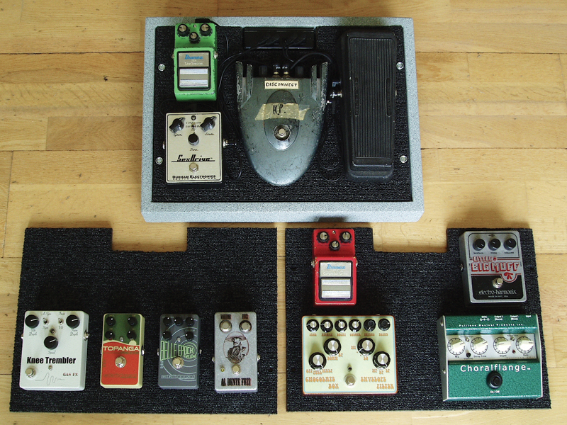 Diy Workshop Build Your Own Pedalboard The Guitar Magazine The