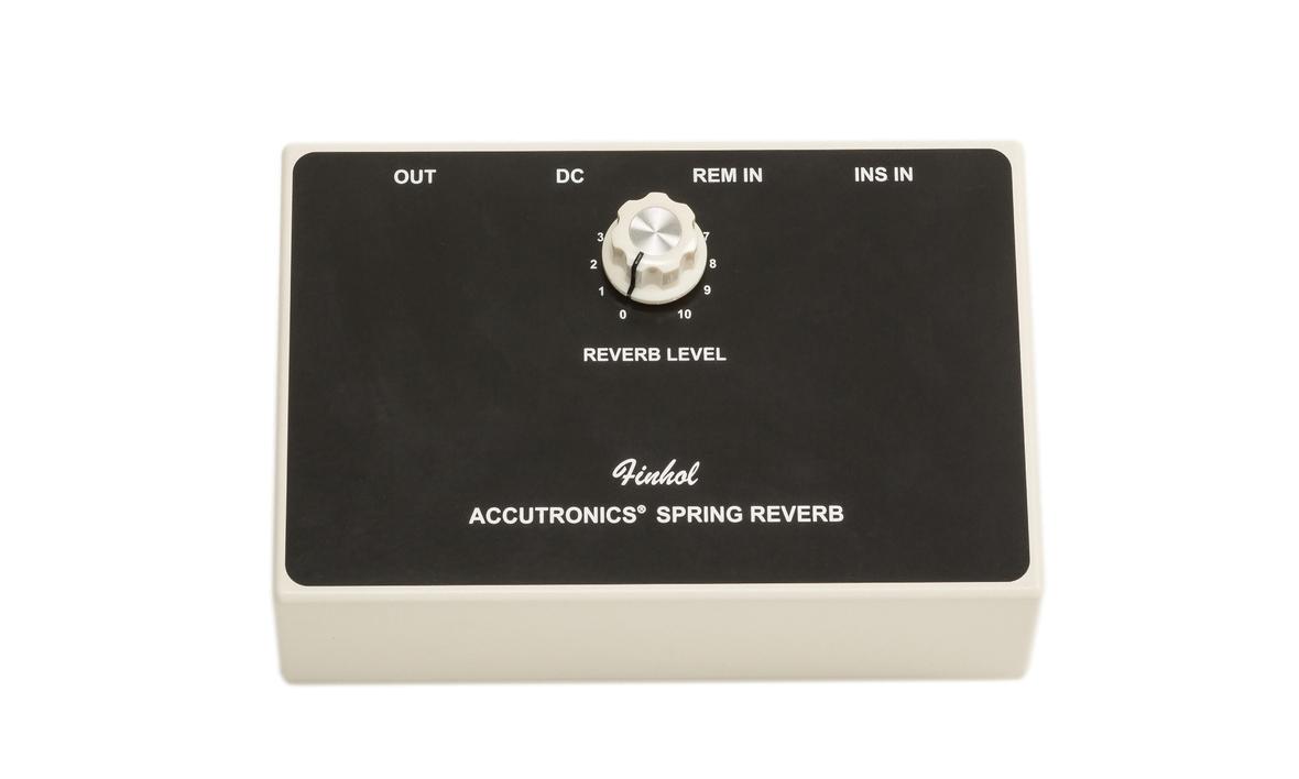 Finhol Accutronics Spring Reverb Review The Guitar