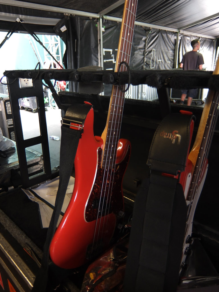 Pete Townshends The Who Live Rig Guitar Magazine Emg P Bass Pickups Wiring Reverb T Fuji Hyde Park 046