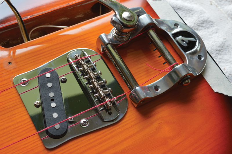 Pic 20 - Aligning The Bigsby