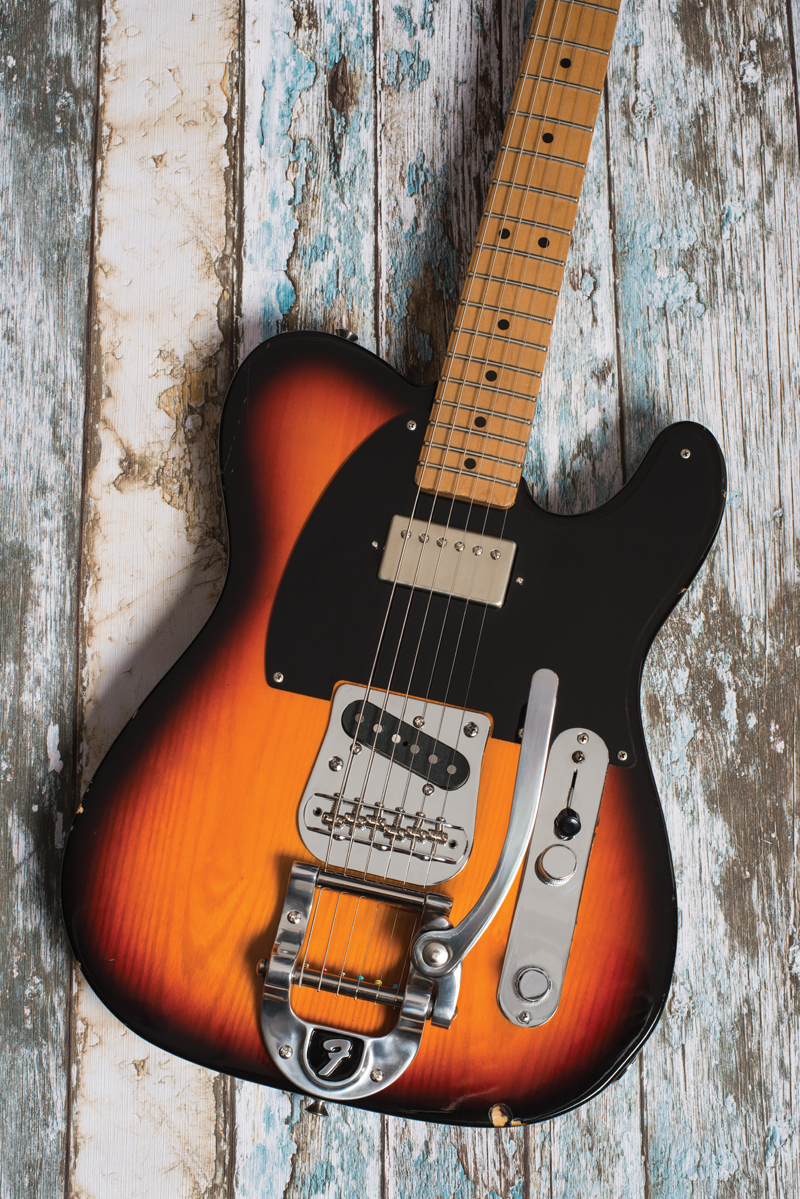 Diy Workshop Tele Renovation The Guitar Magazine Fender Telecaster Tapped 5 Way Switch Wiring Diagram Opener