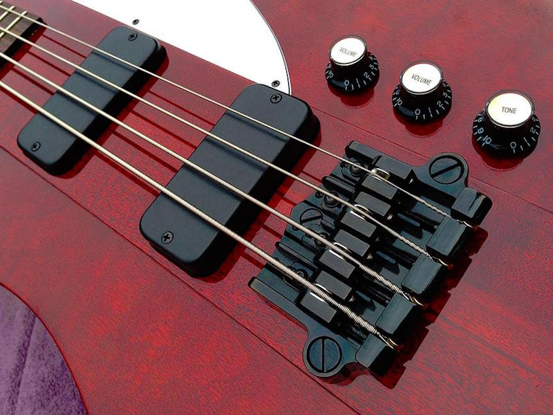 Babicz 3pt Bass Bridge Gibson Thunderbird 2015
