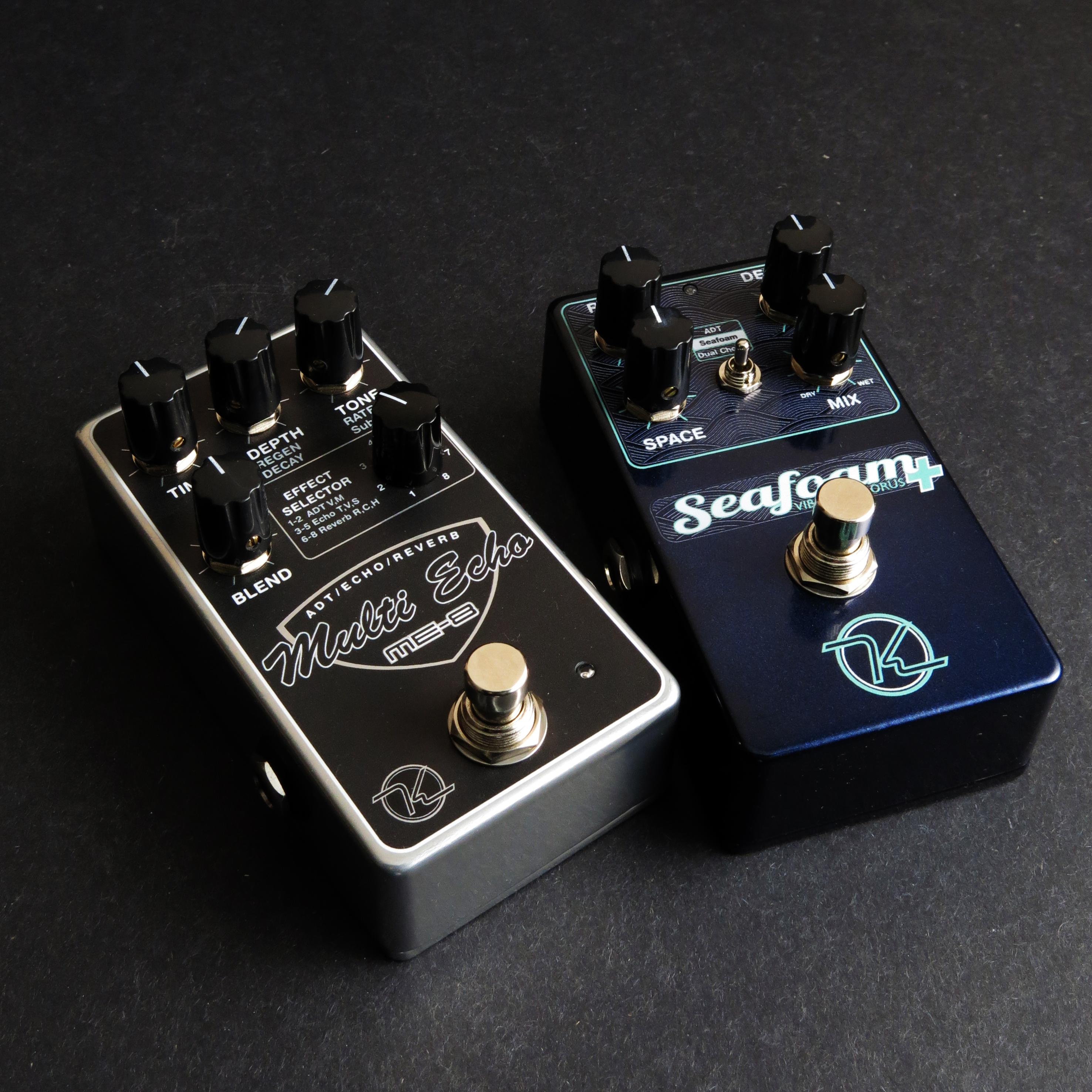 Keeley Seafoam and Multi Echo