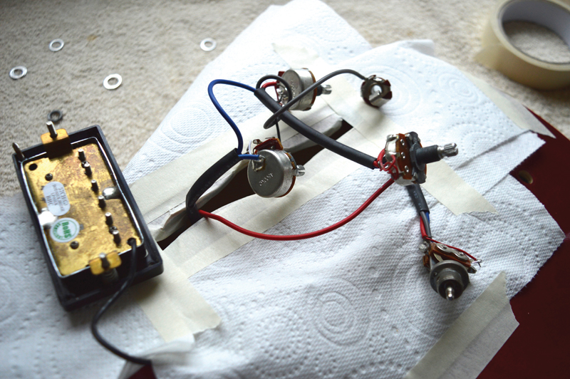 diy workshop epiphone dot renovation the guitar magazine the rh theguitarmagazine com