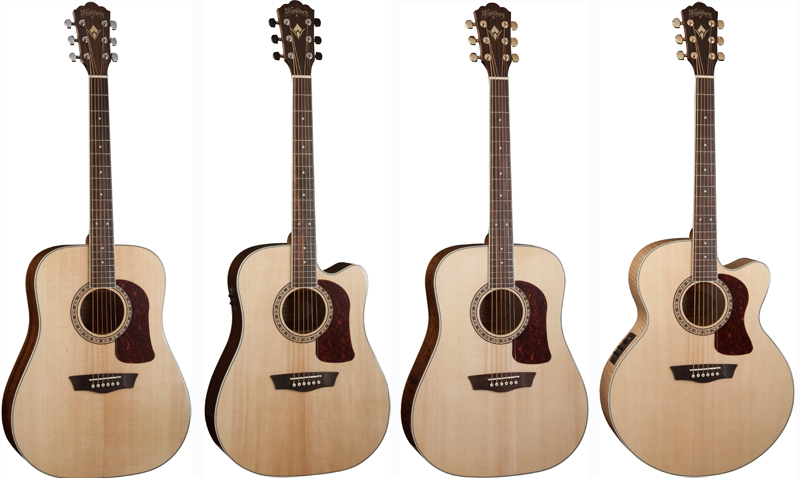 NAMM 2016: Washburn Guitars introduces new Heritage Series ...