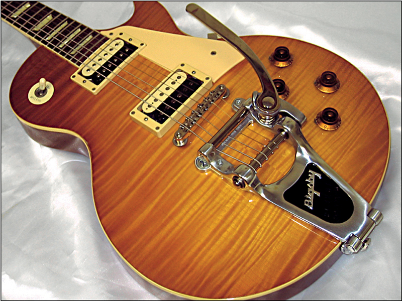 25 essential gibson les paul mods and upgrades guitar bass 15 bigsby lpf