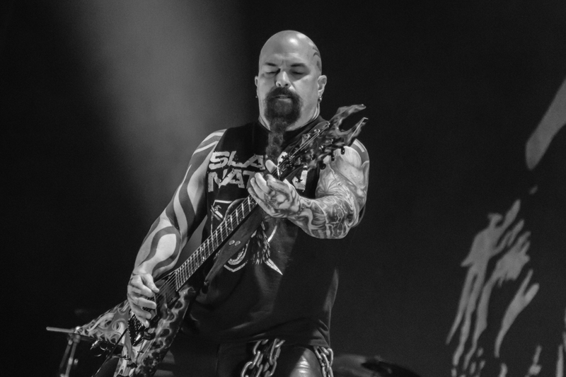 Kerry King from Slayer at the See-Rock Festival 2014