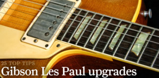 25 Ways To Upgrade Your Gibson Les Paul Guitar Com All Things Guitar