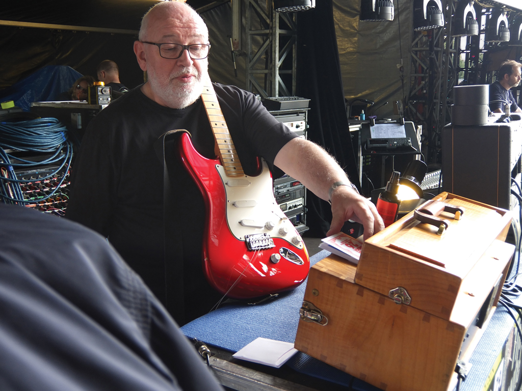 Pete Townshends The Who Live Rig Guitar Magazine Emg P Bass Pickups Wiring Reverb