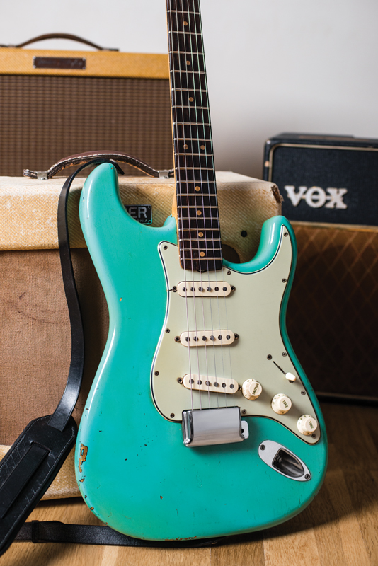 Vintage Bench Test: 1963 Fender Stratocaster