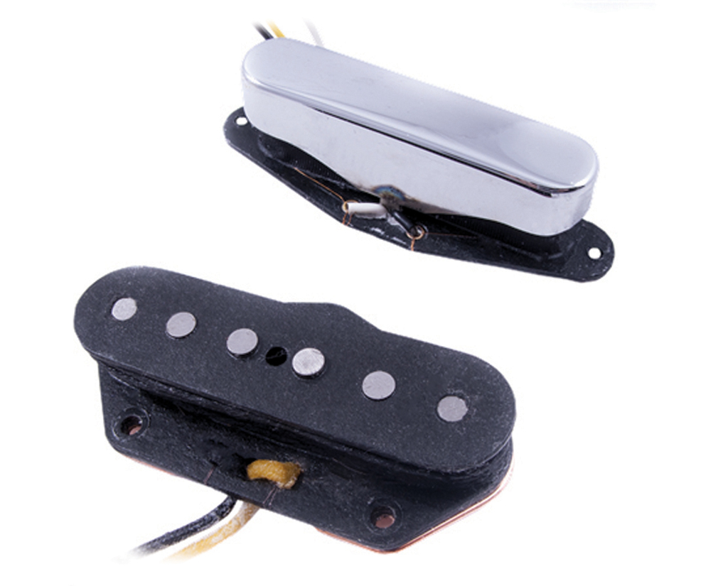 All About Telecaster Neck Pickups The Guitar Magazine Used Gibsonstyle Humbucking Pickup Set W Wiring Pots Switch And