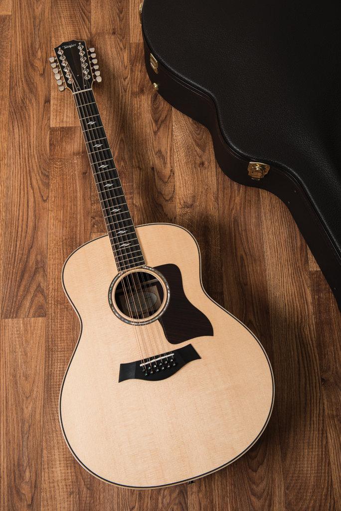 taylor 858e 12 string acoustic review guitar bass guitar bass. Black Bedroom Furniture Sets. Home Design Ideas