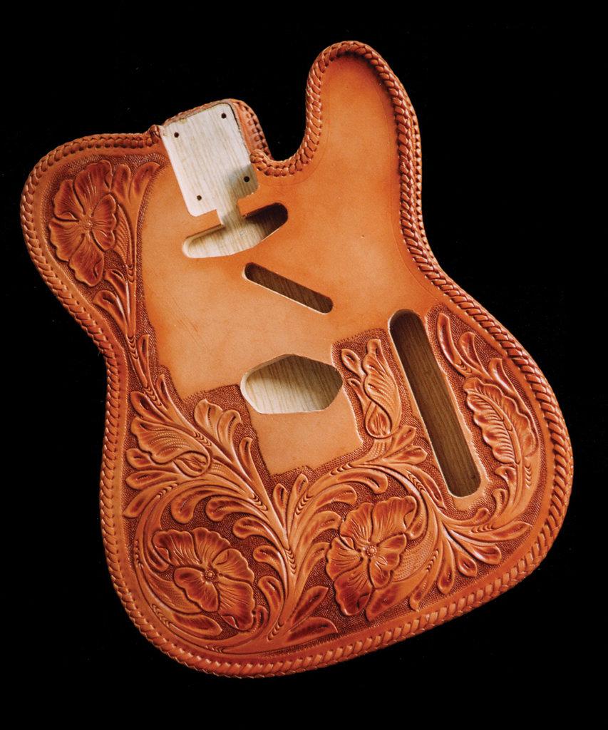 25 fender telecaster tips mods and upgrades guitar bass pic 30 el dorado tooled tele jacket