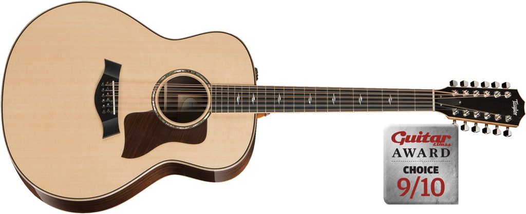 Taylor 858e 12-string Acoustic Review - Guitar & Bass | Guitar & Bass