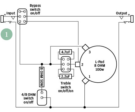 wiring diagram 2010 e 150 diy workshop: how to build your own attenuator - the ... lpad wiring diagram