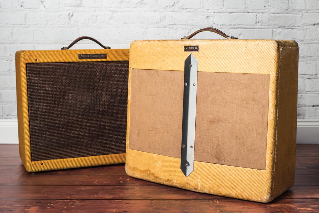 Vintage Bench Test: 1950 5B4 Fender Super & 1956 5E4-A