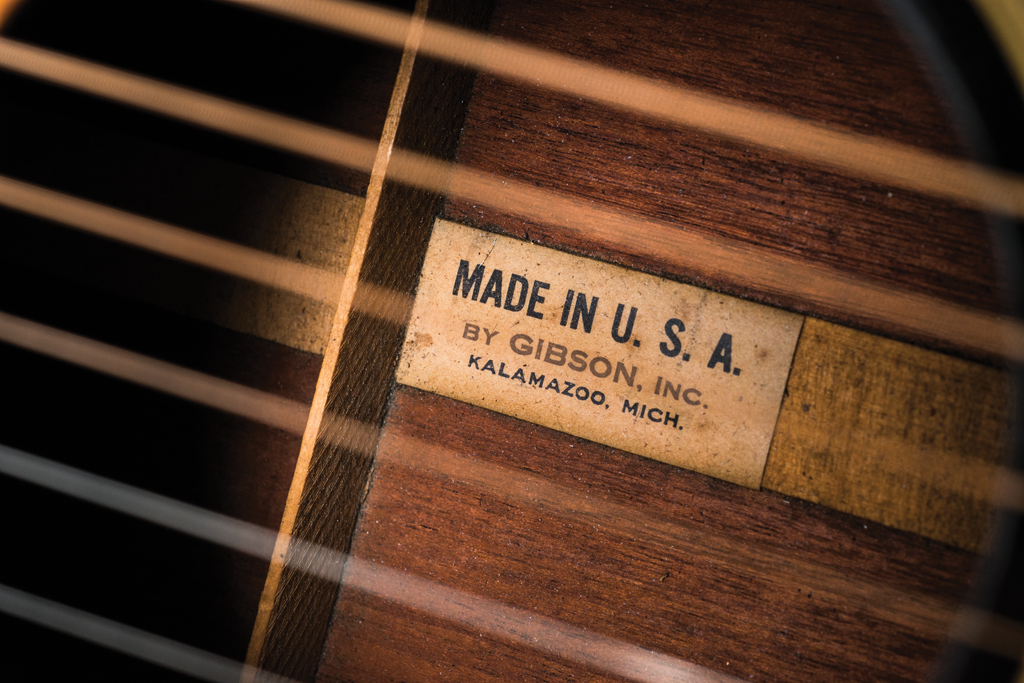 Vintage Bench Test Gibson acoustic-4
