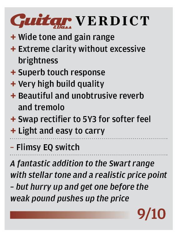 Swart MOD 84 Amplifier Review - Retro Revolution