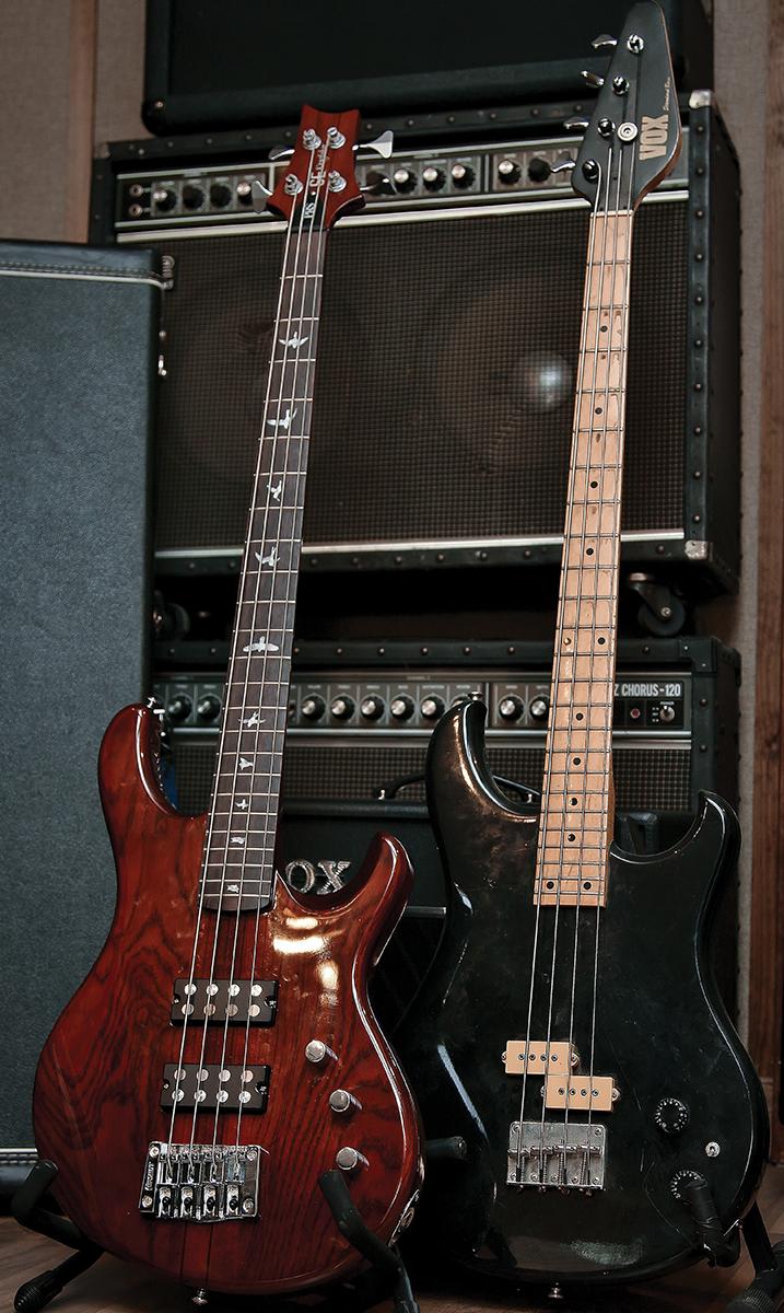 King Crimson Guitar Collection Basses