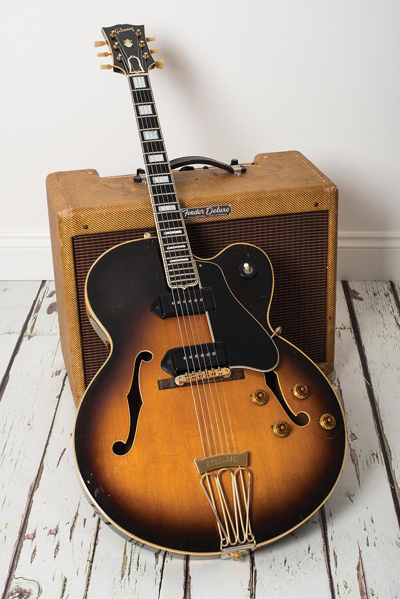 Vintage Bench Test 1956 Gibson Es 350t The Guitar Magazine The Guitar Magazine