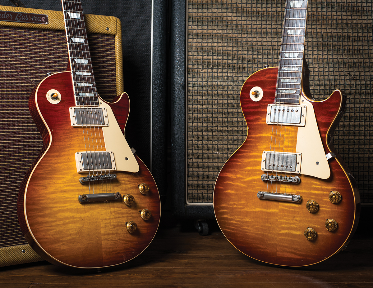 LP Shootout: Gibson Collector's Choice Minnesota Burst vs