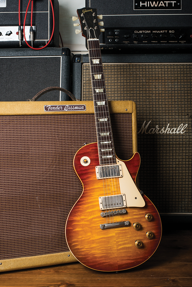 lp shootout gibson collector 39 s choice minnesota burst vs the real 39 59. Black Bedroom Furniture Sets. Home Design Ideas