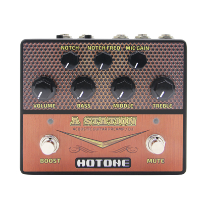 hotone announce two new preamp pedals guitar bass guitar bass. Black Bedroom Furniture Sets. Home Design Ideas