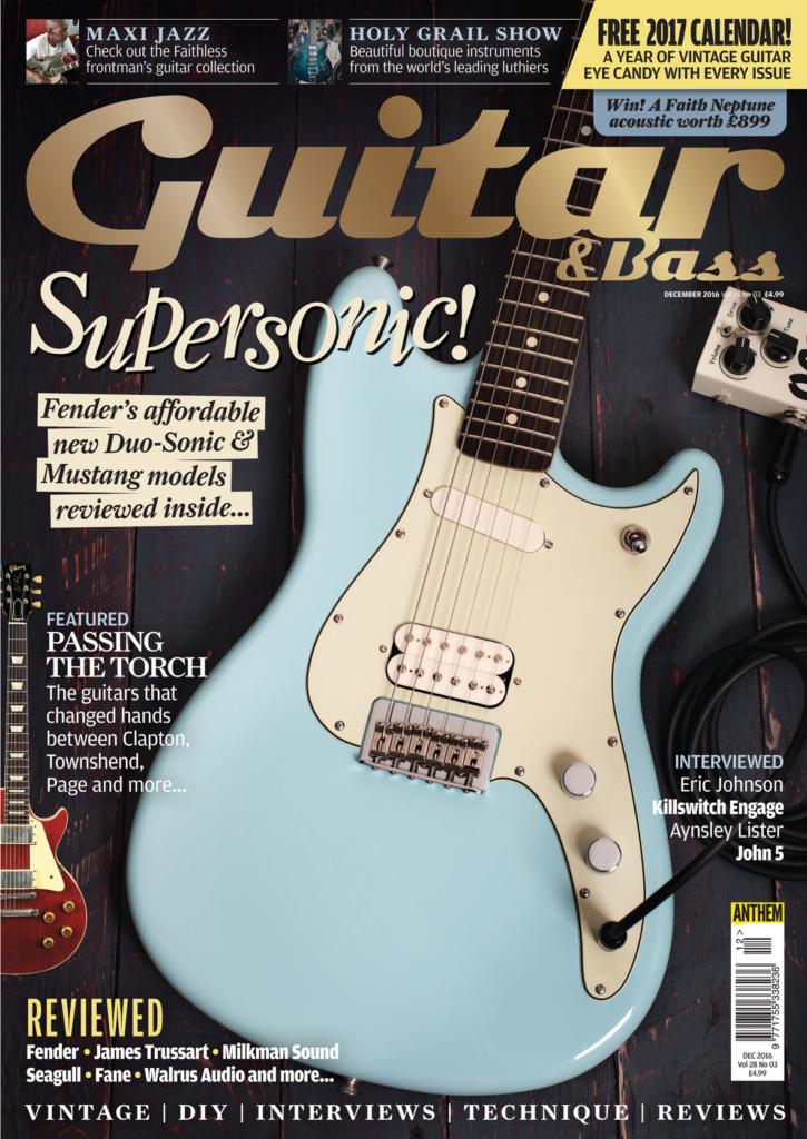 Guitar & Bass - December 2016