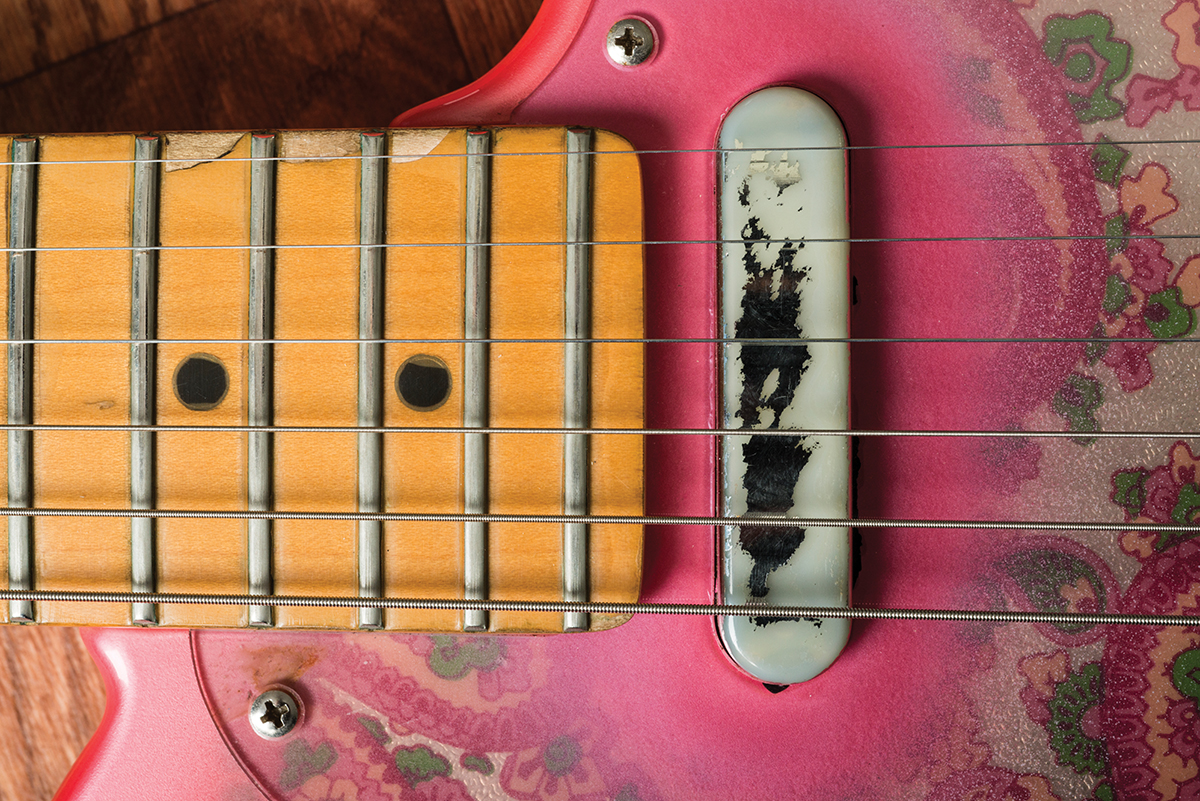 Guitar Diy Tips A Guide To Routine Maintenance All This Is Fingerboard Diagram The Open Strings Are Shown On Tighten Up Neck Screws Then Retune Gaps Between Edges And E Now Identical