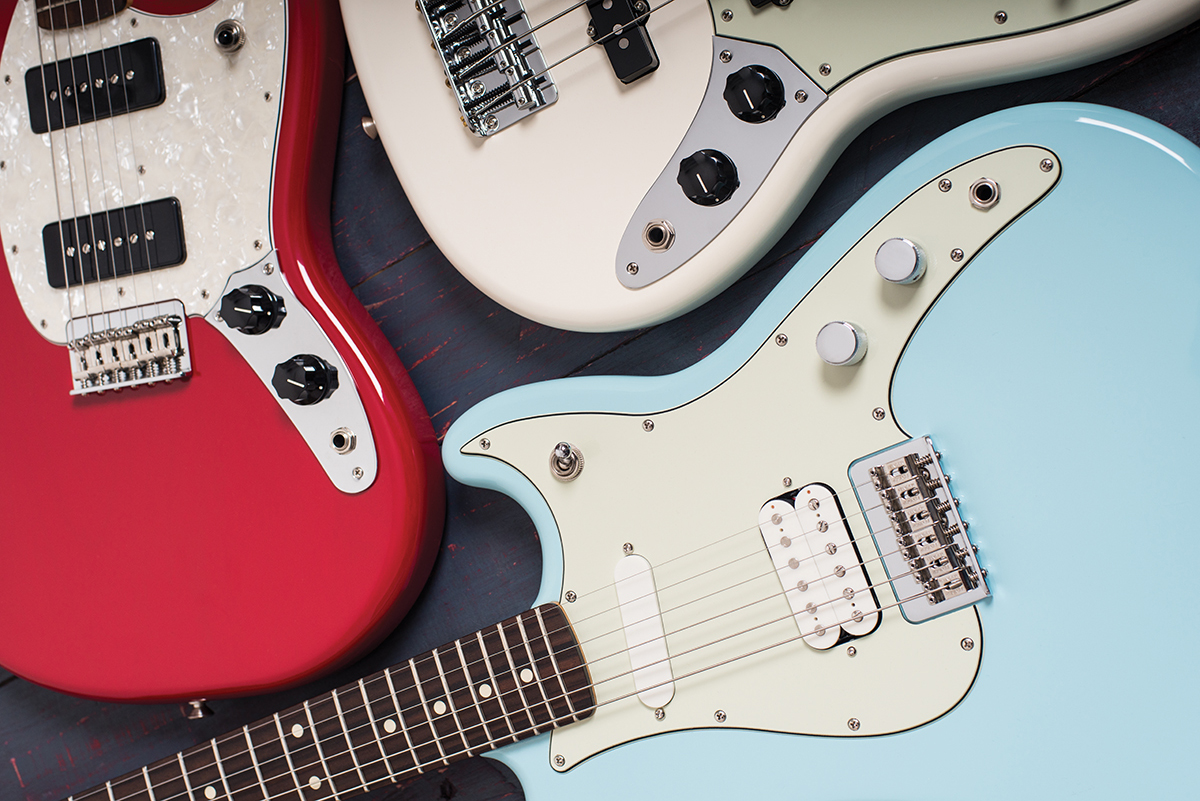 Fender Duo Sonic Hs Mustang 90 Bass Pj Reviews The Mexican Strat Lefty Wiring Diagram Student Guitars Reinvented For A New Generation Chris Vinnicombe Gives Them Workout