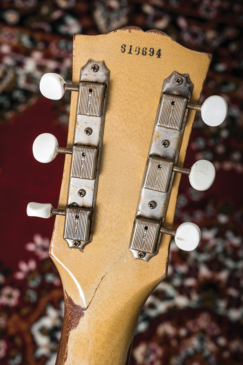 Vintage Bench Test 1956 Les Paul Tv Special The Guitar Magazine Wiring Wire Thats Closer To Late 50s Gibson Spec Than Skinnier Stuff That Would Have Been Used Circa Most Find It A Practical And Pragmatic