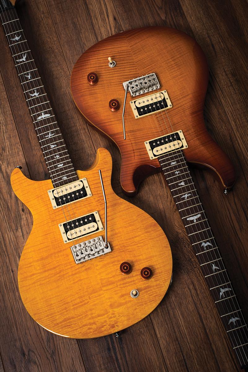 Prs Se Santana Amp Se Custom 22 The Guitar Magazine The