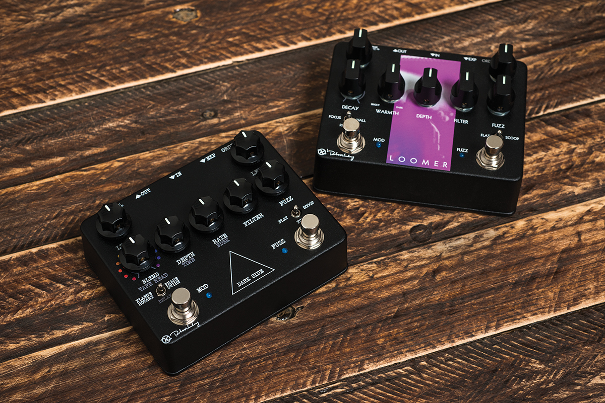 Keeley Loomer Dark Side Reviews The Guitar Magazine Univibe Pedal Wiring Diagram Huw Price Has Flashbacks To His Studio Engineer Past Thanks A Pair Of Workstation Pedals From Robert That Promise Be One Stop Shop For