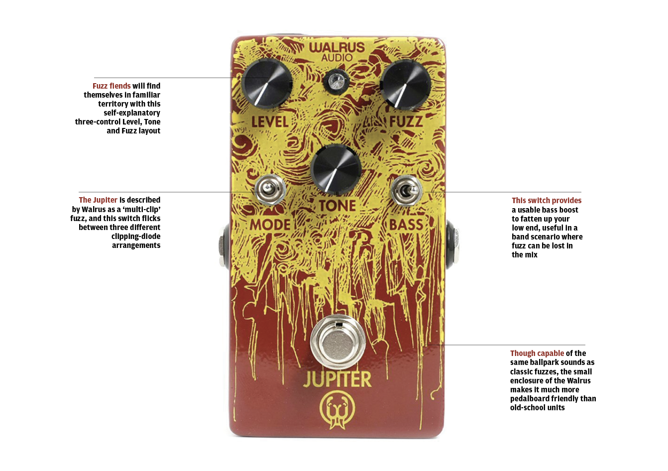 The 20 Best Fx Pedals In World Today All Things Help Wiring An Led Toggle Switch Retro Rides Articulate And Supremely Versatile Fuzzbox With A Range Of Switchable Clipping Modes To Provide Rainbow Fuzz Flavours