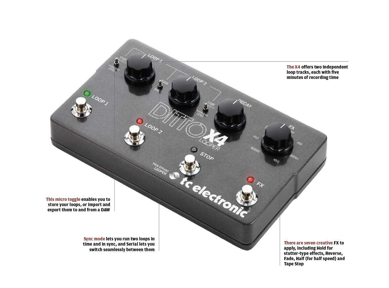 The 20 Best Fx Pedals In World Today All Things Problems Inside Big Pedal Enclosure Using Through Hole Components A Floor Based Looper Unit Which Enables You To Run Two Loops Simultaneously And Add Effects Without Confusing Hell Out Of