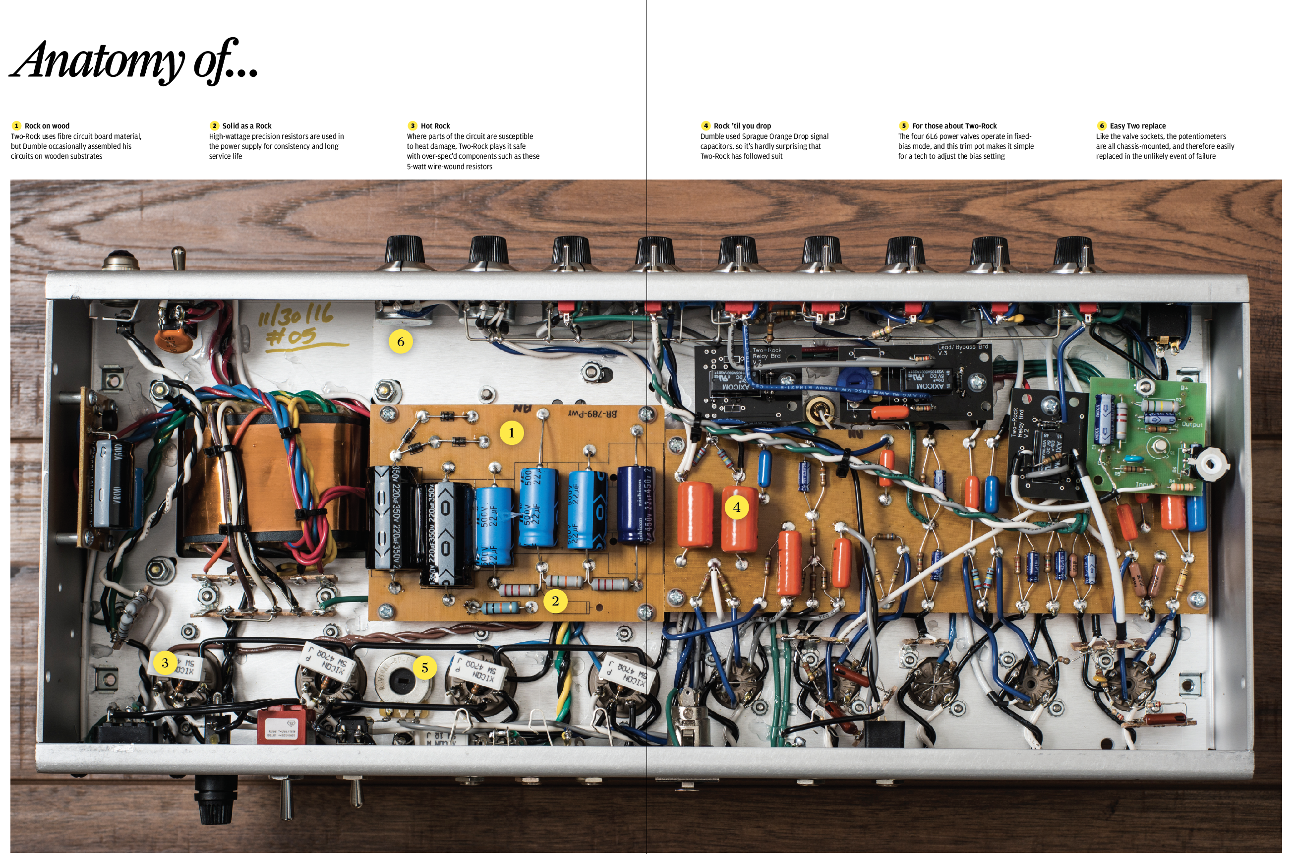 Two Rock Classic Reverb Signature The Guitar Magazine John Mayer Strat Wiring Diagram Oddly Enough Once We Had Settled On A Setting That Suited Us Found Were Able To Swap From Without Needing Adjust Amp