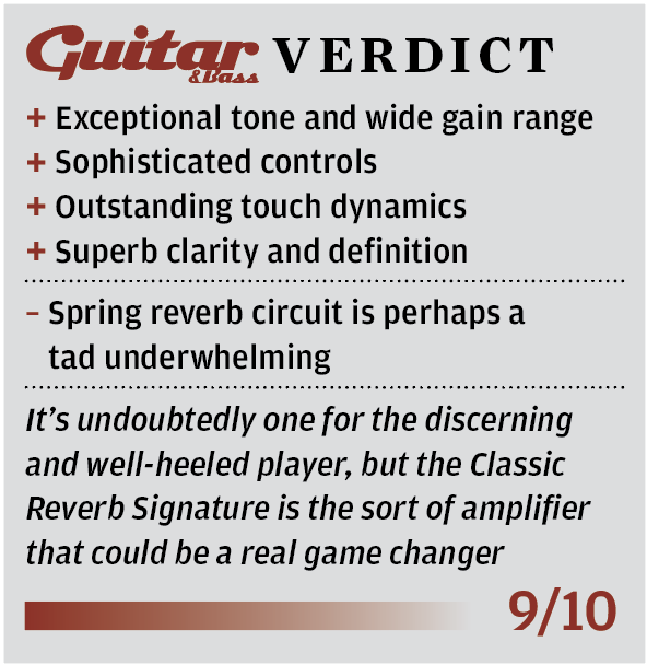 Two-Rock Classic Reverb Signature Review - Guitar com   All Things