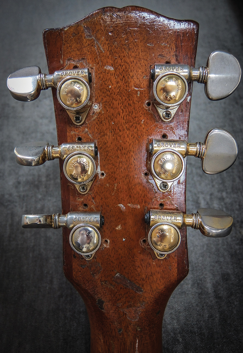Paul Kossoffs Stripped Les All Things Guitar The Steel Forum View Topic 72 Telecaster Custom Wiring At Time Frets Were Badly Worn And Goochs Father Gave Him An Ear Bashing For Spending So Much Money On A Beaten Up