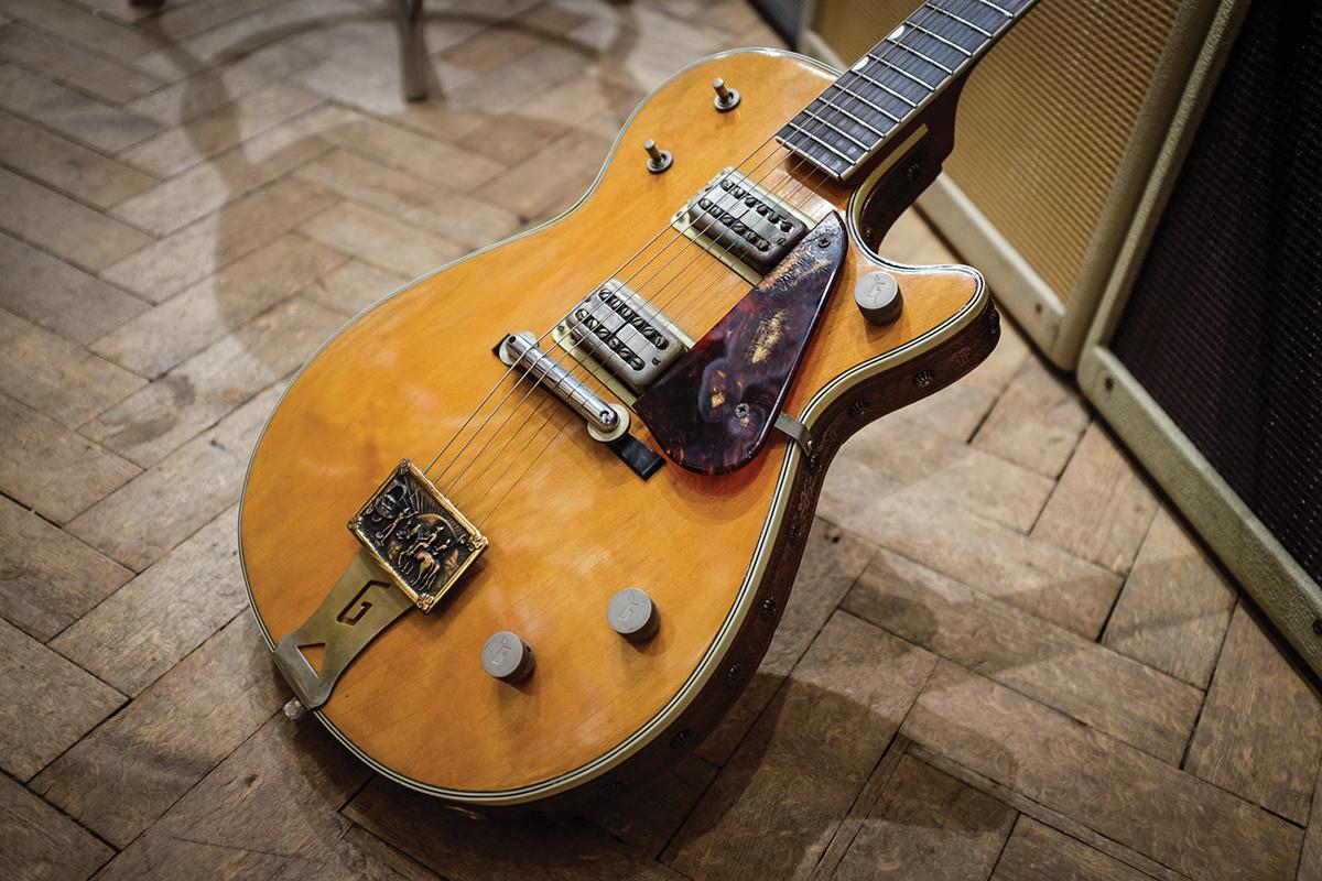vintage gretsch electric guitar