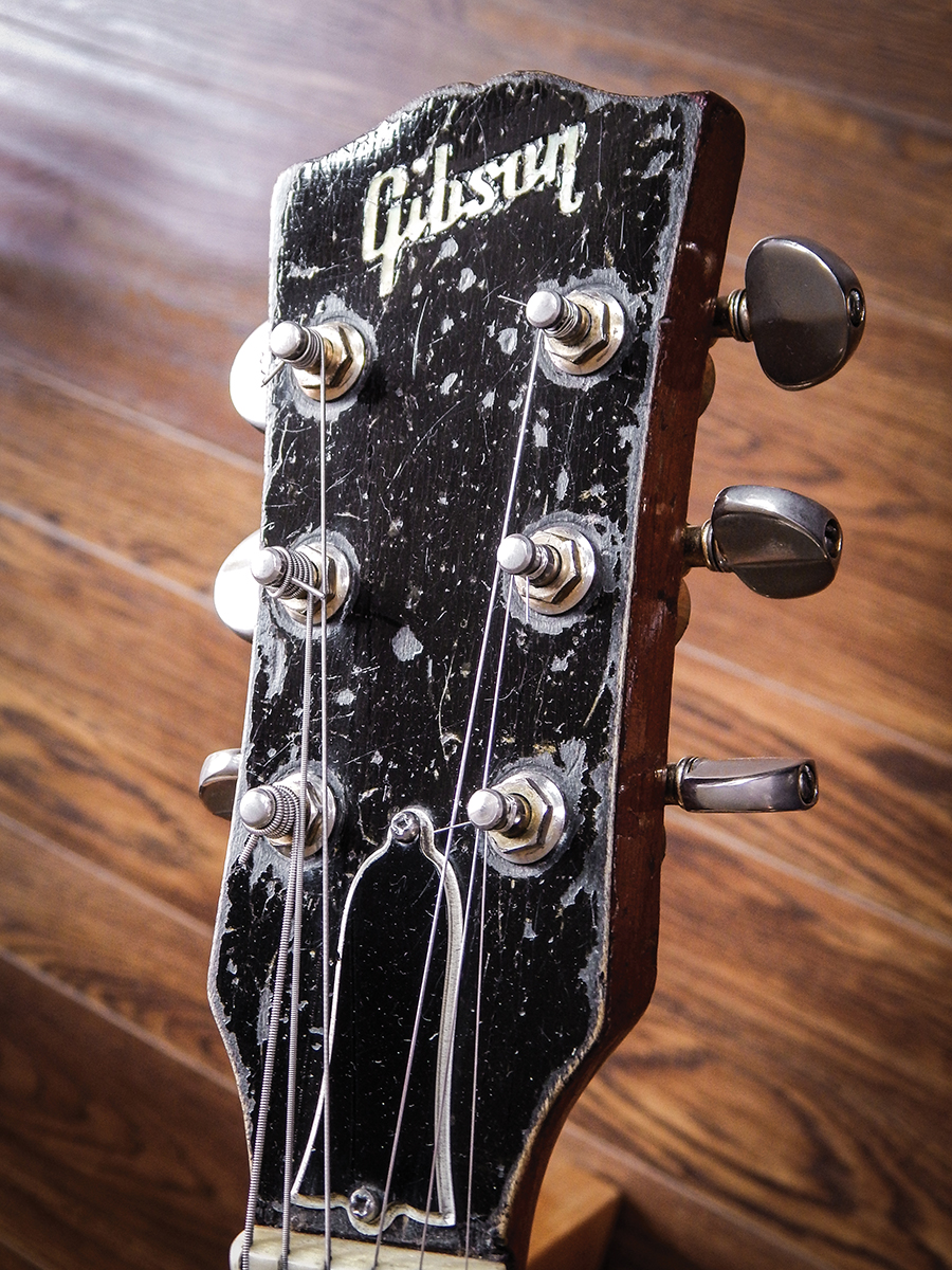 Paul Kossoffs Stripped Les Songs Of Yesterday The Guitar Switch In Addition Vintage Wiring Harness A Serial Number Missing Following Refinish Has Only Served To Stoke Fire Was It Made 1958 1959 Or 1960 Is All Right Now