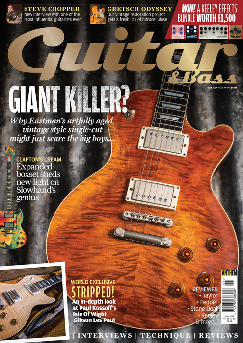 Taylor Guitars For Sale >> The May 2017 issue of Guitar & Bass magazine is out now ...
