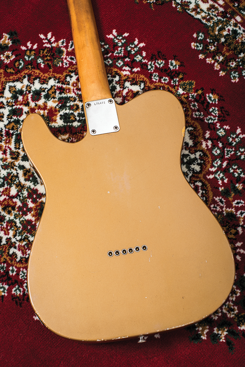 Vintage Bench Test 1965 Fender Telecaster All Things Thread 4way Tele Switch Diagram Examining This Neck Closely It Strikes Me That From The Late 50s Onwards Was Consistently Ahead Of Game On Profiles As At